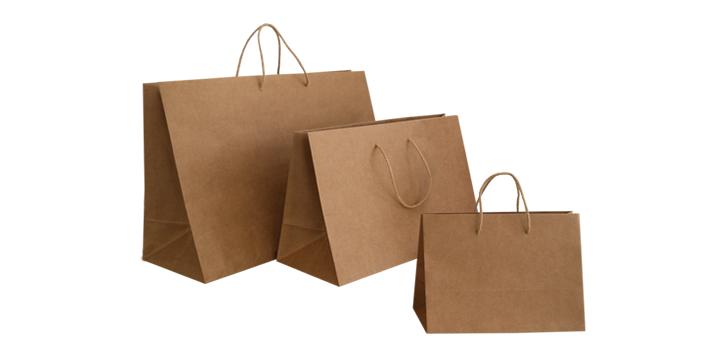b063fff67 Bolsas de papel reciclabes, aptas para imprimir el logo de tu empresa o  comercio.